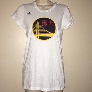 Adidas #30 Currry Golden Warrior T shirt- M